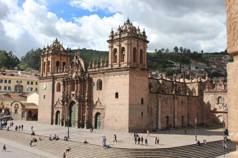 The cathedral of Cusco - Wiracocha Spanish School