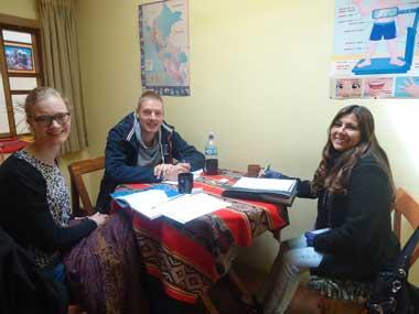 intensive spanish course in cusco peru