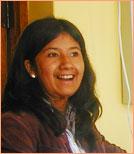 our staff: teacher Indira
