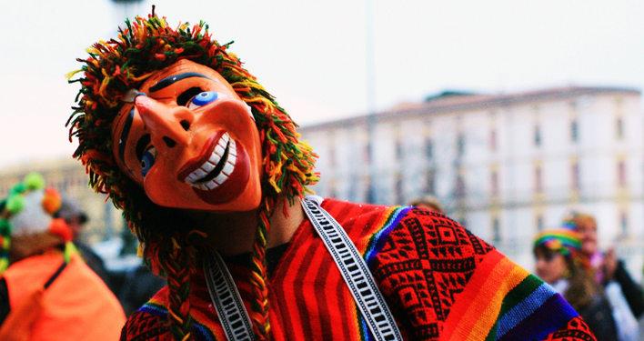 Compadre cusqueño - carnivals in cusco