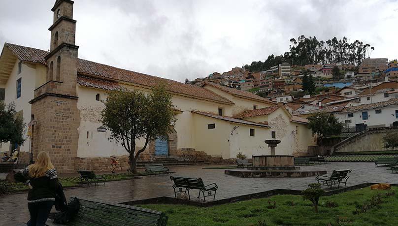 barrio tradicional de San Blas - square San Blas