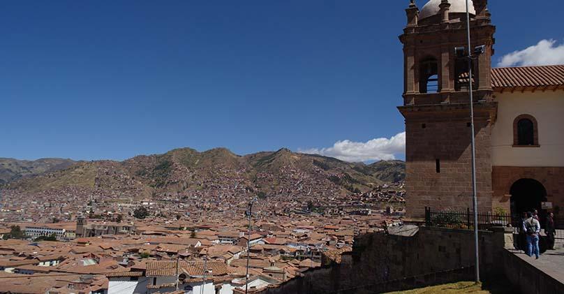 traditional neighborhood of San Cristobal