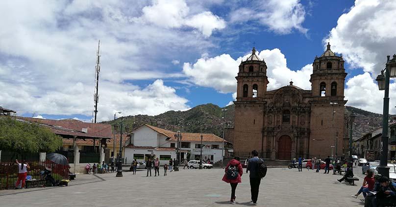 traditional neighborhood of San Pedro