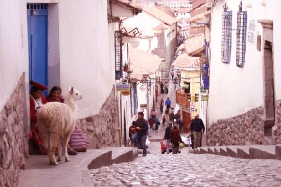 traditional neighborhood of San Blas - Street Cuesta San Blas