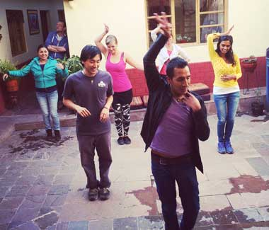 salsa lesssons, wiracocha spanish school cusco