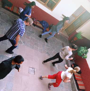 have spanish classes and salsa lessons your part time, when you visit to Cusco peru