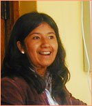 our staff: teacher Indira