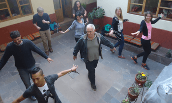 salsa lessons in wiracocha spanish school in cusco