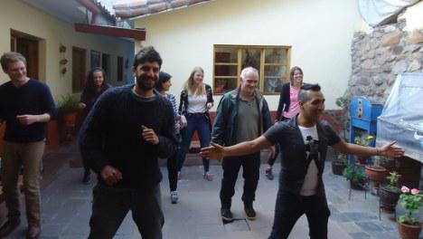 Activity Salsa Lessons Wiracocha Spanish School