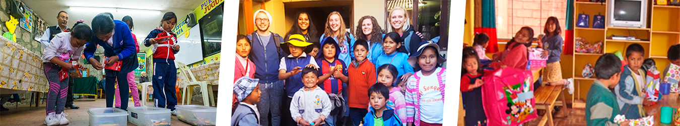 Childcare Volunteer Work in cusco peru wiracocha spanish school