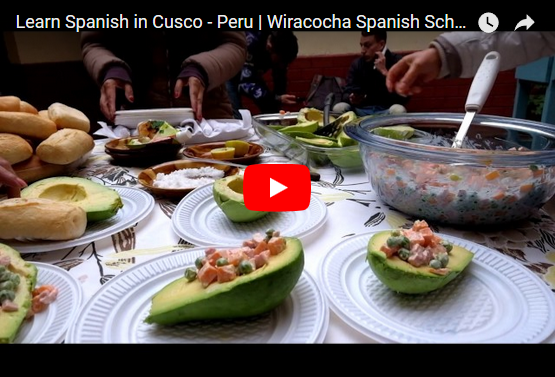 wiracocha spanish school video youtube